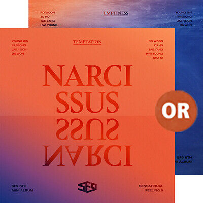 SF9 6th Mini Album NARCISSUS TEMPTATION / EMPTINESS ver CD+Booklet+Photo Cards