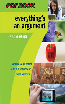 Everything's an Argument with Readings, 7th Edition(P.D.F)