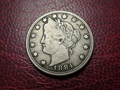 United States 5 Cents Nickel 1884  Ref B6562