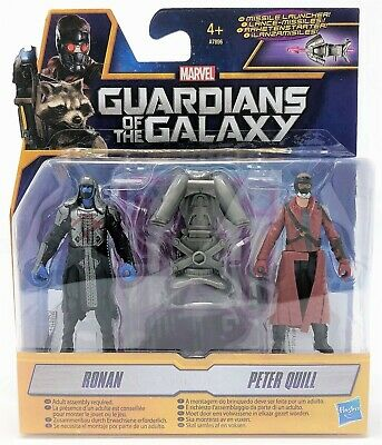 Guardians of the Galaxy Ronan and Peter Quill Star-Lord Figure Pack Toy