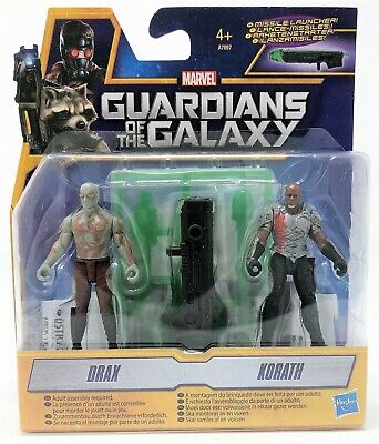 Guardians of the Galaxy Drax and Korath Figure Pack Toy
