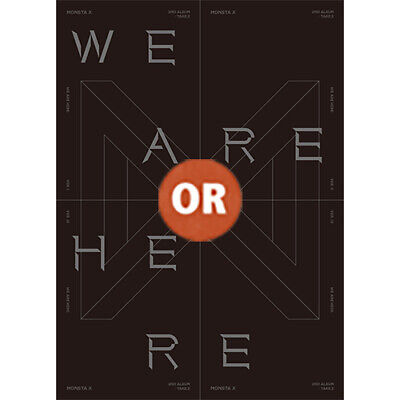 MONSTA X 2nd Album TAKE.2 WE ARE HERE CD+Photobook+2 Photo Cards+Tracking