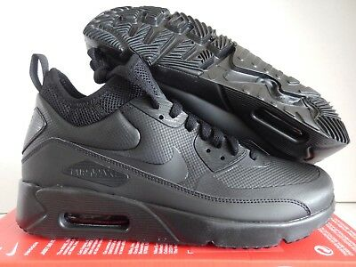 new product 8d7a6 0de5c Nike Air Max 90 Ultra Mid Winter Black-Black-Anthracite Sz 9.5  924458