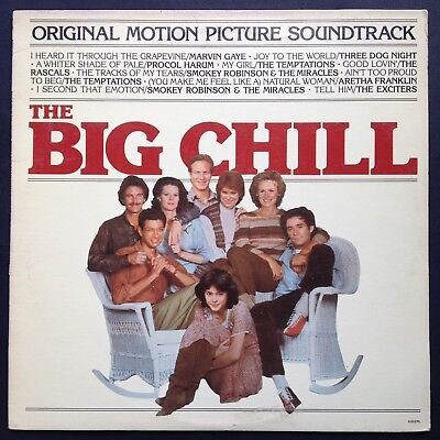 THE BIG CHILL LP Film Soundtrack OST Jeff Goldblum Tom Berenger Smokey Robinson