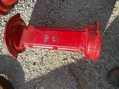Farmall IH B tractor left side main L axle housing