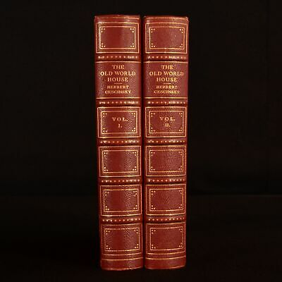 1924 2vols The Old World House Furniture and Decoration Herbert Cescinsky