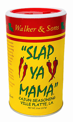 Walker & Sons Slap Ya Mama Cajun Seasoning 8 oz