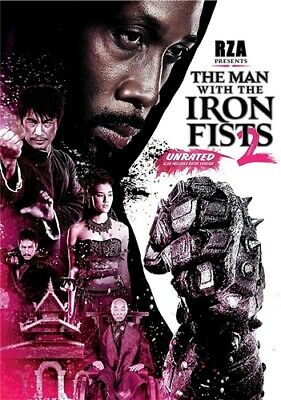 THE MAN WITH THE IRON FISTS 2 New Sealed DVD Unrated and Rated Versions