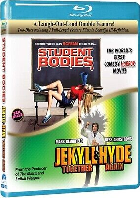 STUDENT BODIES + JEKYLL & HYDE TOGETHER AGAIN New Sealed Blu-ray