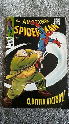 Marvel Comics The Amazing Spider-Man Number 60 - May 1968 - Original