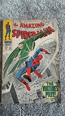 Marvel Comics The Amazing Spider-Man Number 64 - September 1968 - Original