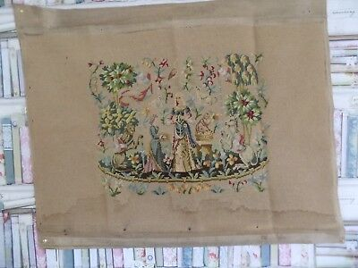 Antique Medieval Tapestry Lady & The Unicorn 'taste' Mothers Day Gift