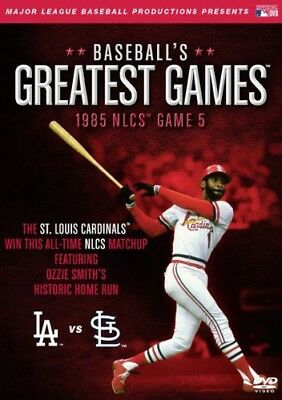 ML Baseball Greatest Games1985 NLCS Game 5 Cardinals vs Dodgers DVD