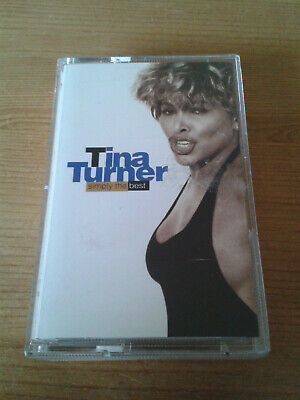 Tina Turner Simply the Best Cassette Tape Album, Greatest Hits, Best of