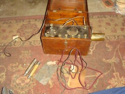 1870's Jr. Jerome Kidder Electro Shock Device - Antique Quackery - AS IS