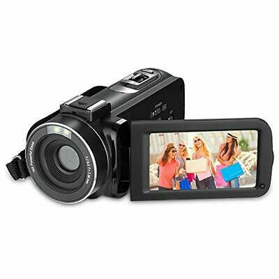 RegaMoudal Full HD 1080P VideoCamera ,Camcorder Fotocamera da 24MP Zoom Digital