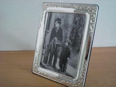 Handmade Sterling Silver Photo Picture Frame*1010/13×18 GBnew