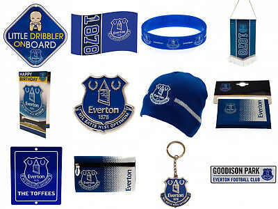 Everton FC Official Football Club Birthday Xmas Souvenir Gifts. New.