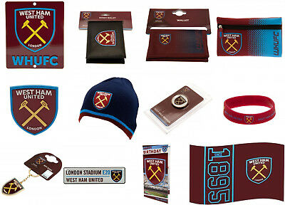 West Ham United FC Official Football Club Birthday Xmas Souvenir Gifts. New.