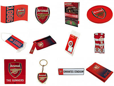 Arsenal FC Official Football Club Birthday Xmas Souvenir Gifts. New.