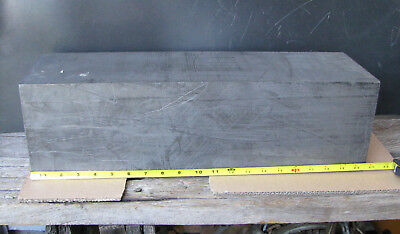 LARGE GRAPHITE BLOCK 46lbs 6x6x20in. EDM ROUGHING/METAL CASTING MOLD 1.76/cm3