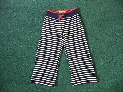 Mini Boden New Navy Cosy Autumn Trousers 4 Years 3-4 Girls Warm Joggers Mini