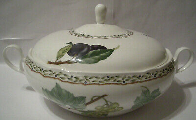 "Noritake 9416 Royal Orchard 9"" Round Covered Vegetable Bowl  Excellent CONDITION"
