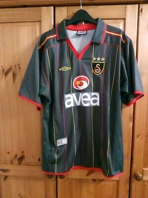 Soccer Jersey Vintage Collection Football Shirt GALATASARAY 2004-2005 Size: L