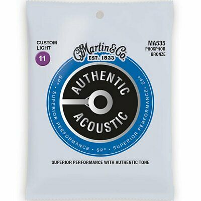 Martin MA535 Superior Performance SP Phosphor Bronze Acoustic strings 11-52