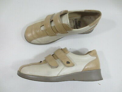 4784554257be73 Finn Comfort Chaussures Plates Scratch Baskets 6 1/2 Env. 40 Cuir Beige /