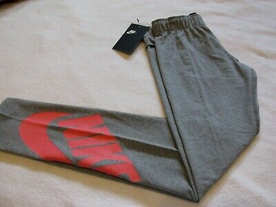 NIKE  Leggings #851984 Girls sz L NEW with Tags  $35.00  Heather Gray