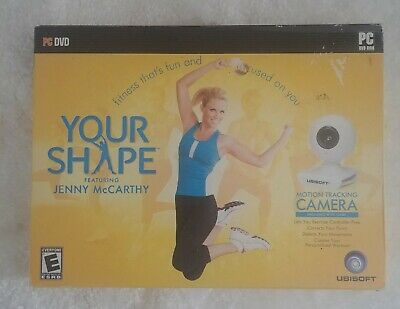 PC Computer Game - YOUR SHAPE FEATURING JENNY McCARTHY Exercise Brand New in Box