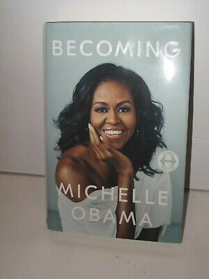 BECOMING by Michelle Obama Bestselling Book 2018 Hardcover DJ.  First Edition.