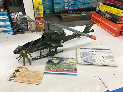 "GI JOE GIJOE 1983 DRAGONFLY /""HIGH EXPLOSIVE Bomb/"""