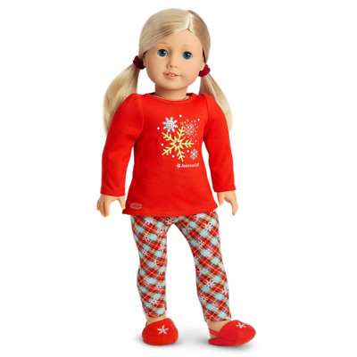 """American Girl """"Holiday Dream P.J.'s"""" - COMPLETE - NEW"""