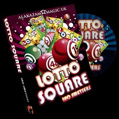 Lotto Square by Leo Smetsers and Alakazam Magic - DVD - Magic Tricks