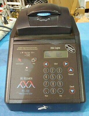 MJ Research PTC-200 96 Well PCR Peltier Thermal Cycler Alpha Unit Block