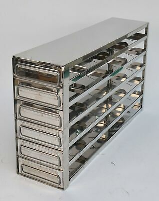 """Panasonic Upright Stainless Freezer Rack w/ Drawers for 20-2"""" Boxes"""