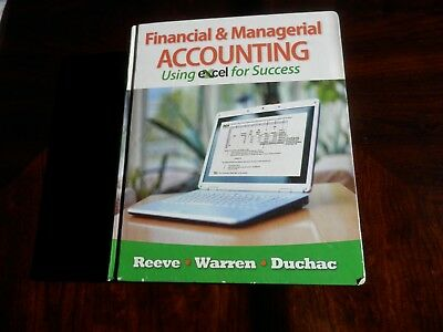 Financial and Managerial Accounting Using Excel for Success
