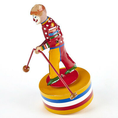 Lot 170112 Tucher Blech Original (Tucher u. Walther) Clown auf runder Dose