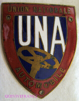 Badge De Calandre Una Union Nationale Automobile