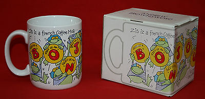 "From 1988!  Andrew Brownsword ""zis Iz A French Coffee Mug !""  Boxed & Perfect!"