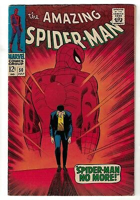 Marvel comics Amazing Spiderman  50 VGF 5.0 silver age KINGPIN 1st appearance