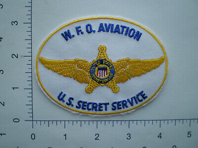 USSS UNITED STATES Secret Service Aviation Weather Forecast federal police  patch