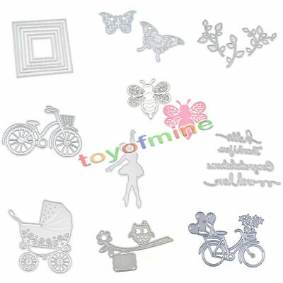Metal DIY Cutting Dies Stencil Scrapbook Card Album Paper Embossing Craft Decor