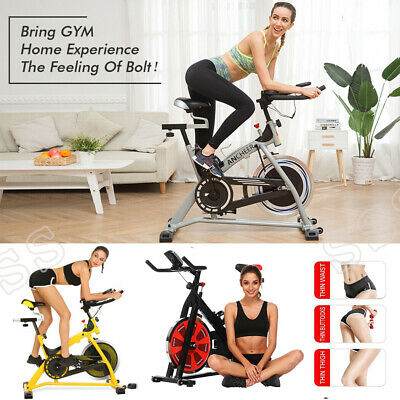 Ancheer Pro Stationary Exercise Bike Cycling Bike Indoor Cardio Fitness Bicycle