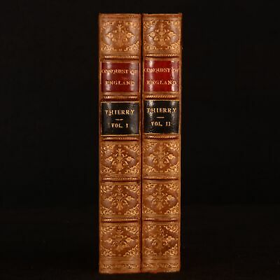 1875-1885 2vol History of the Conquest of England Normans Thierry Hazlit Scarce