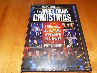 AN ANGEL BAND CHRISTMAS Point of Grace Jaci Velasquez Andrew Greer DVD NEW