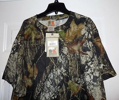 70a10605a830c Russell Outdoors Mossy Oak Mens Camo Men's 2Xl Camouflage Shirt New With  Tags