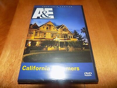CALIFORNIA DREAMERS WINCHESTER MYSTERY HOUSE Death Valley Castle A&E DVD NEW